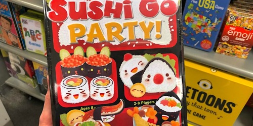 Sushi Go! Card Game Only $5.84 at Target.com | Awesome Reviews