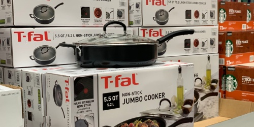 T-Fal Jumbo Cooker with Lid Only $19.99 on Macys.com (Regularly $90) | Black Friday Deal