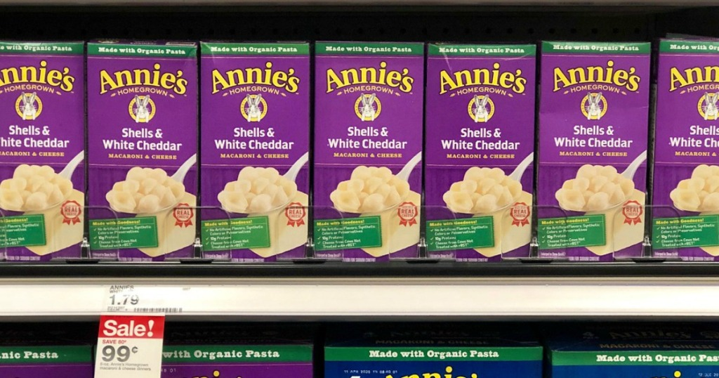 annie's macaroni and cheese at target