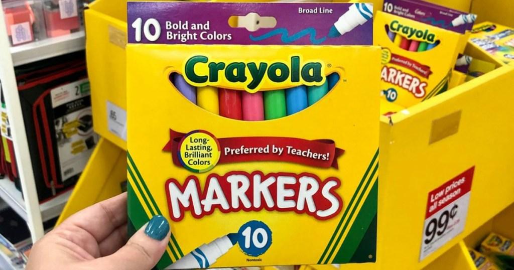crayola markers at target