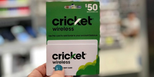 15% Off Wireless Prepaid eGift Cards on Kroger.com | $50 Cricket Wireless eGift Card Only $42.50