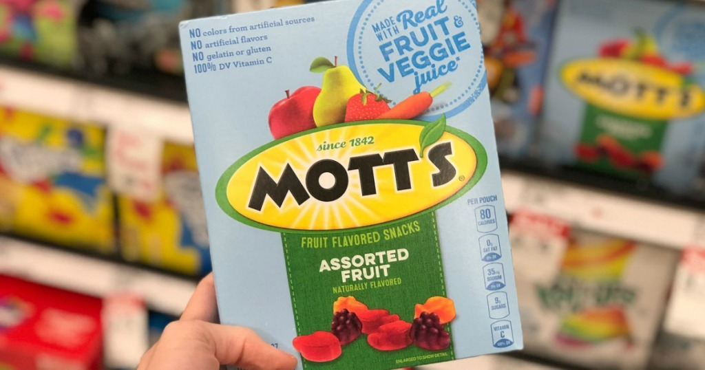 mott's fruit snacks at target