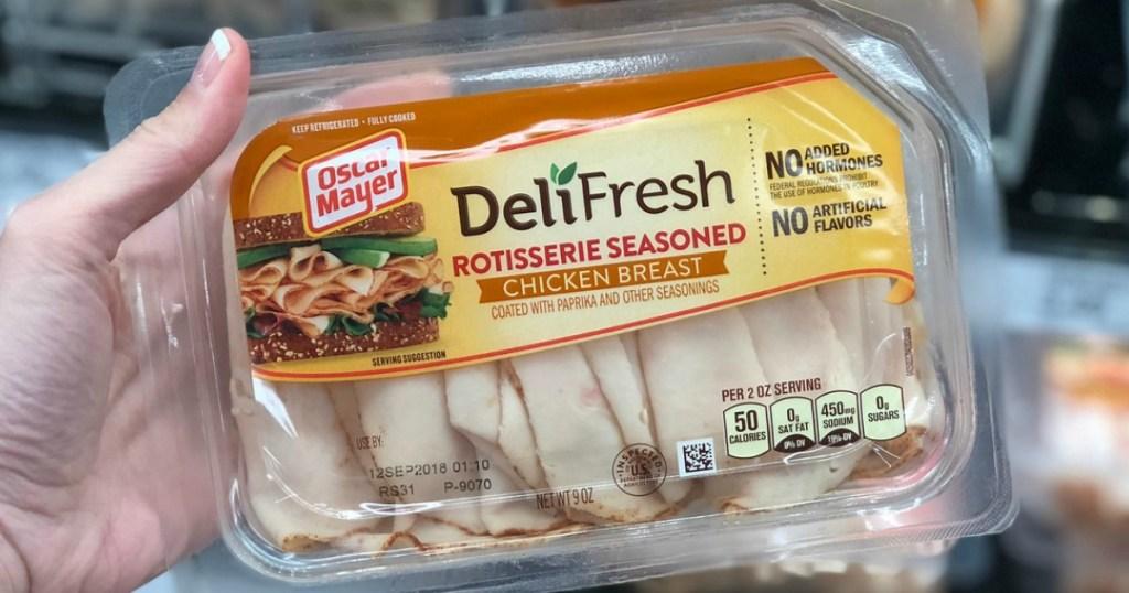 oscar mayer deli fresh lunchmeat at target