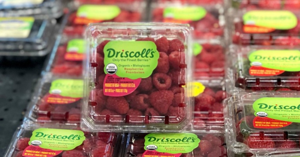 driscoll's raspberries at target