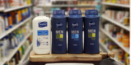 Suave Body Wash & Lotion as Low as $1.18Each After Target Gift Card