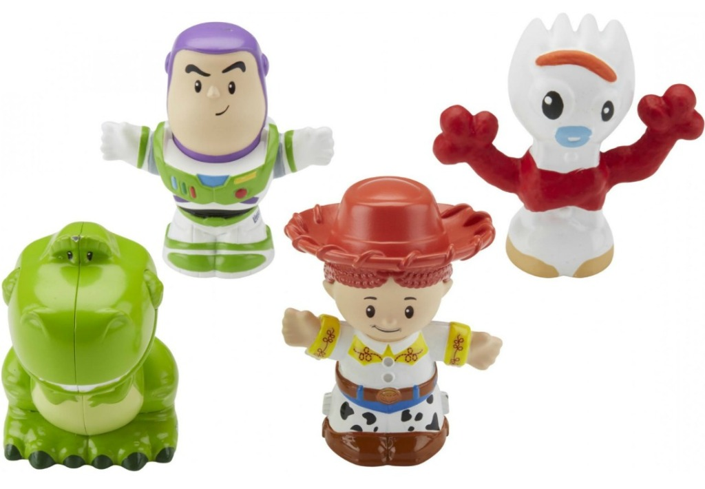 toy story characters rex, buzz, jessie and forky