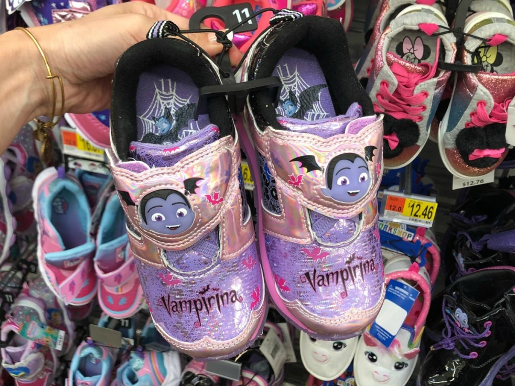 vampirina sneakers at walmart