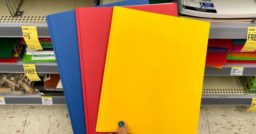 wexford folders at walgreens