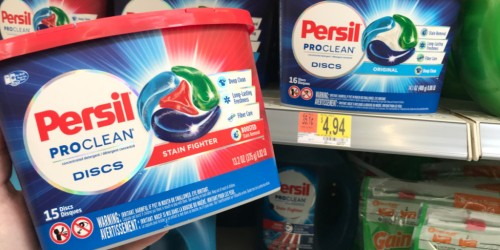 Persil Laundry Detergent as Low as $1.94 After Cash Back at Walmart