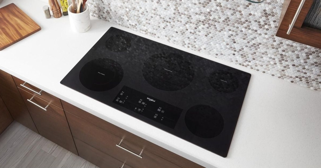 Whirlpool glass cooktop