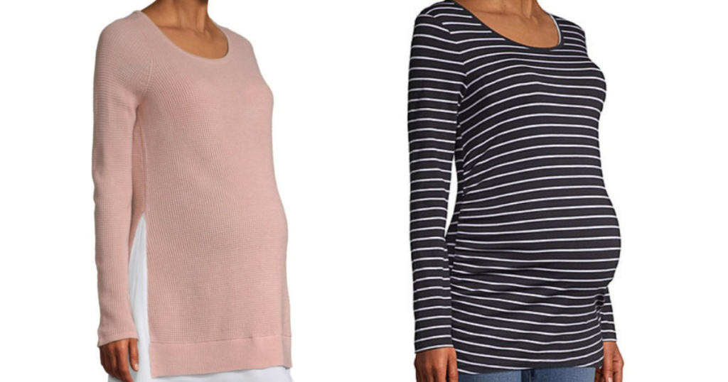 women's maternity tops at jcpenney