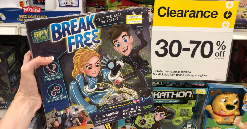 yulu break free game at Target