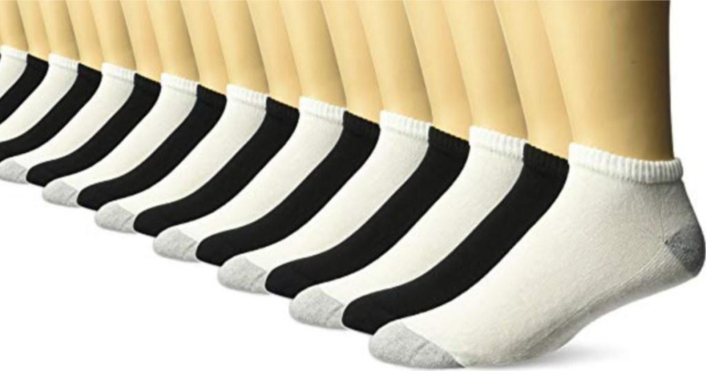 10-Pair Gildan Men's Socks
