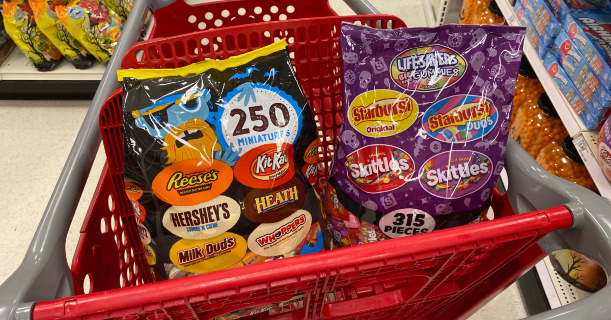 40% Off Halloween Candy at Target Today Only , Hip2Save