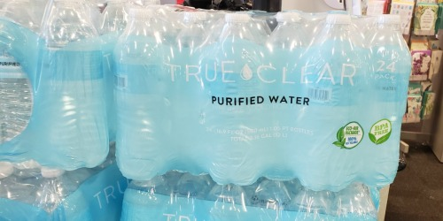 Free 24-Pack of Purified Bottled Water at Staples | Check Your Text Messages for Coupon