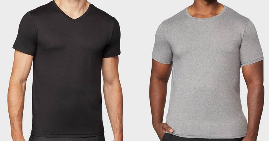 men wearing t-shirts
