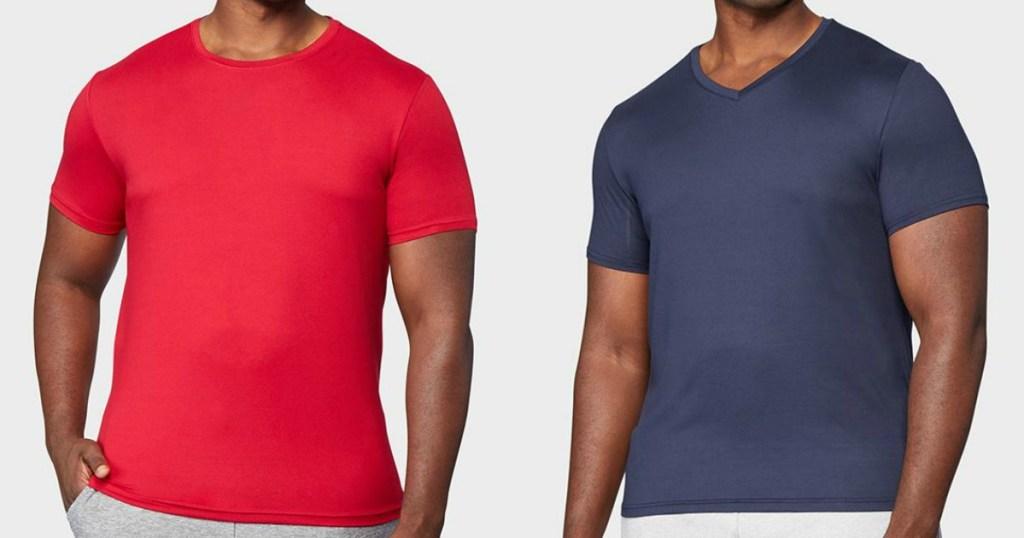 men wearing shirts