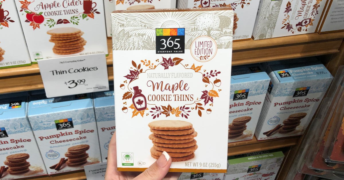 365 Maple Cookie Thins