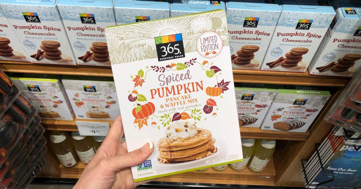 365 Spiced Pumpkin Pancake Waffle Mix
