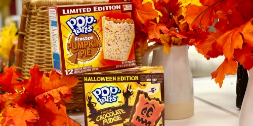 Pumpkin Pie and Halloween Pop Tarts are Here for Limited Time Only