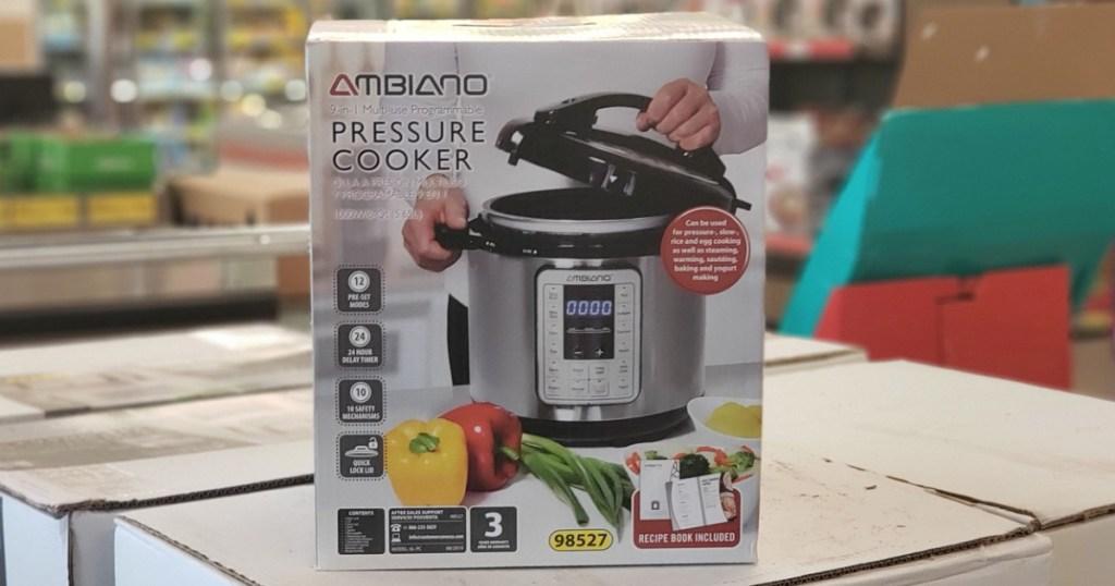 ALDI Ambiano 9-in-1 Pressure Cooker