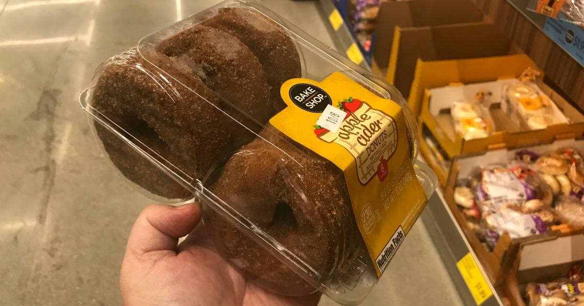 ALDI Bake Shop Apple Cider donuts