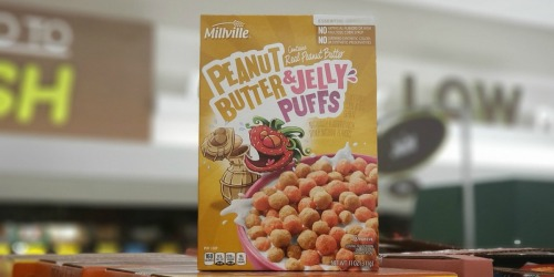 Peanut Butter & Jelly Cereal is Real & It's at ALDI