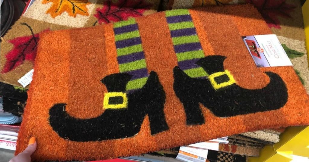 ALDI Witch Feet Rug