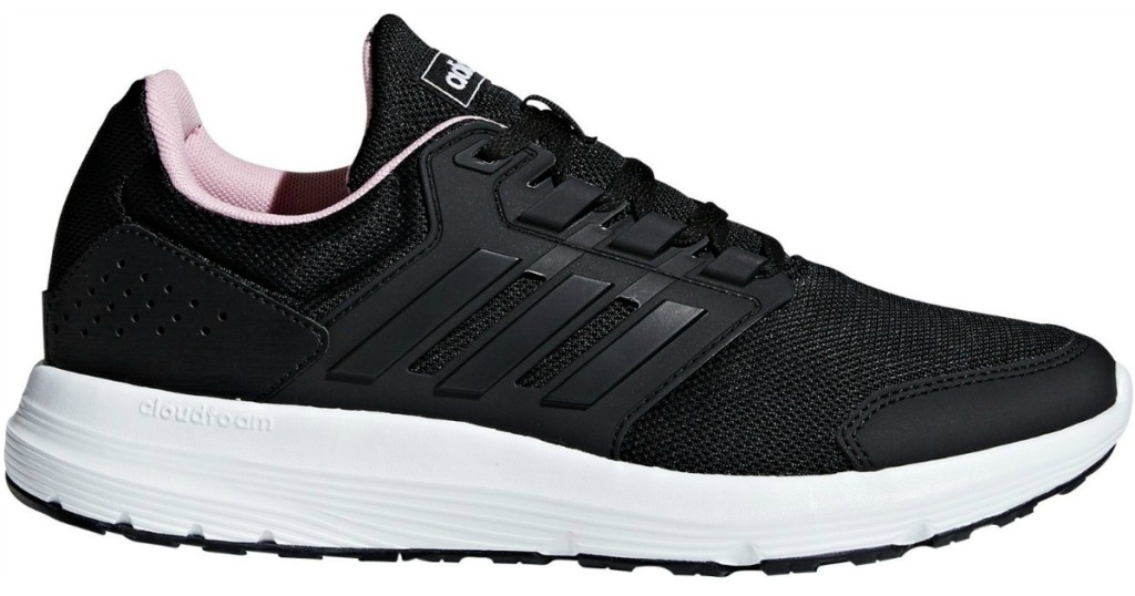 Black Adidas Women's Galaxy 4 Running Shoes