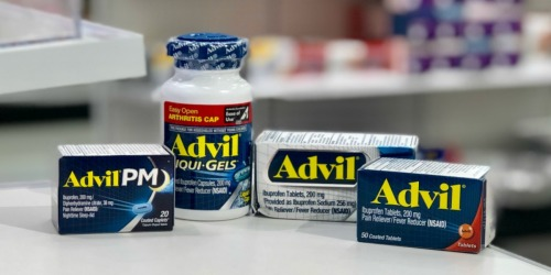 Advil Liqui-Gels 160-Count Only $7.79 Each After Mail-In Rebate at Target