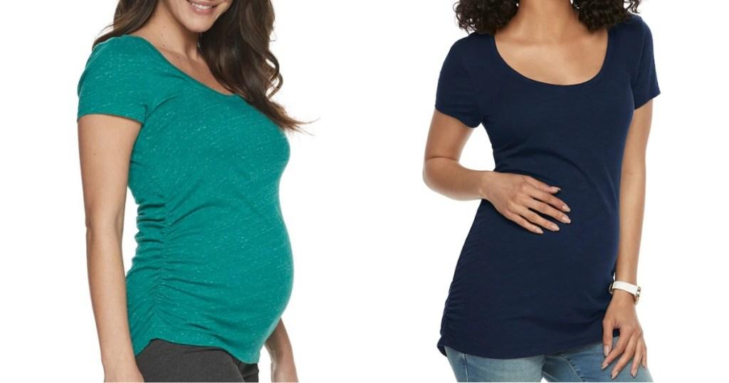 Aglow Maternity Tops