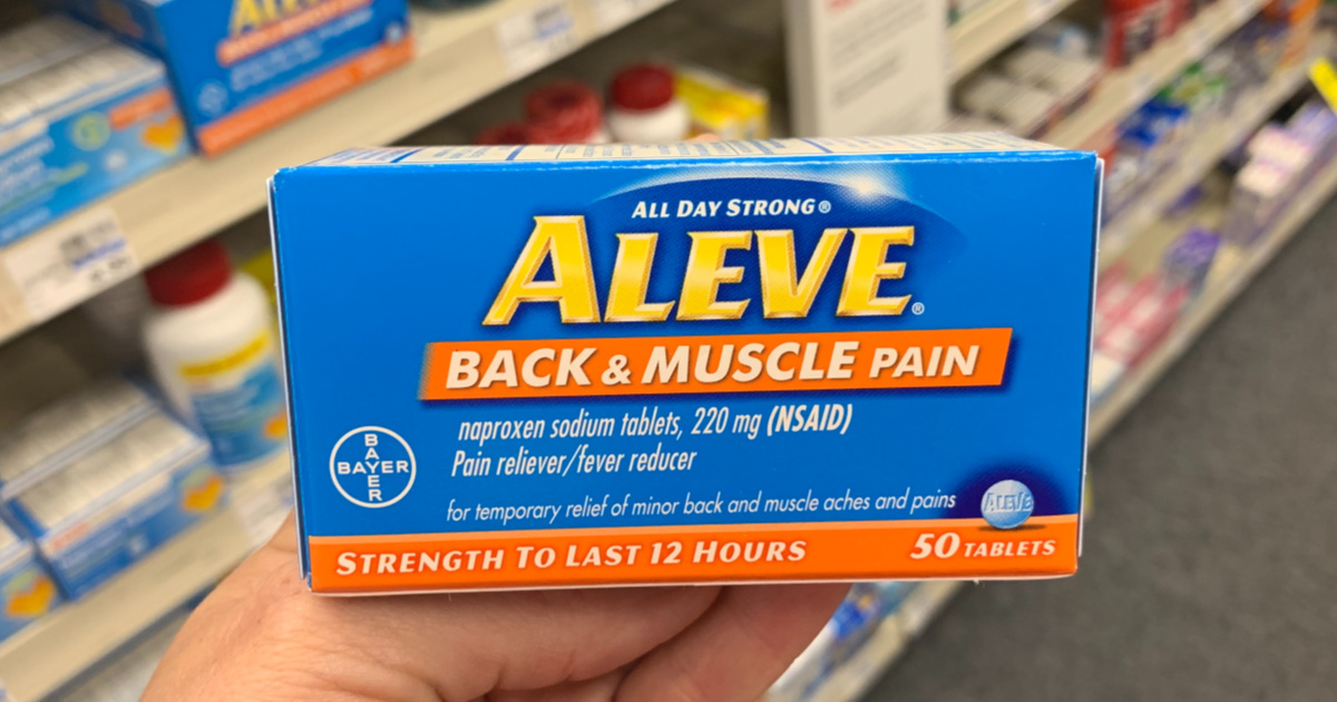 Aleve Back & Muscle package