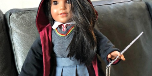 Harry Potter Inspired Doll Clothing Sets as Low as $14.44 at Amazon | Perfect for American Girl