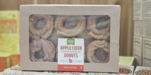 NEW Trader Joe's Fall Sweet Treats | Apple Cider Donuts, Pumpkin Ice Cream Cones, & More
