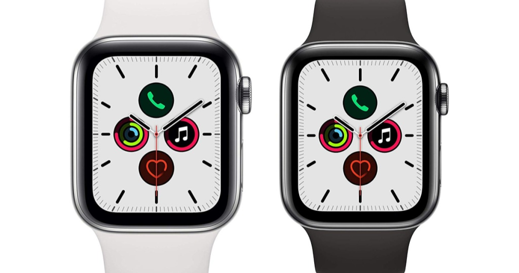 2 series 5 apple watches