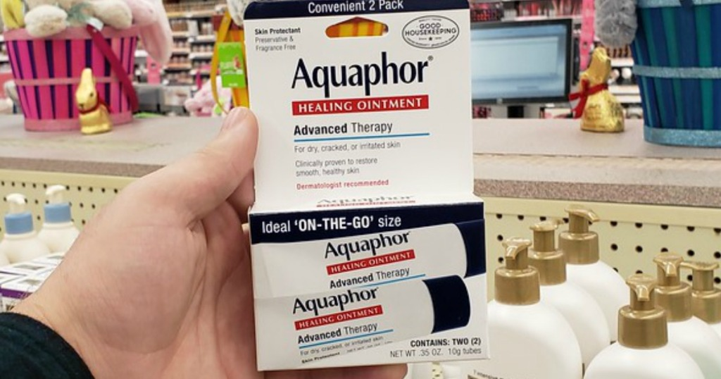someone Aquaphor tubes
