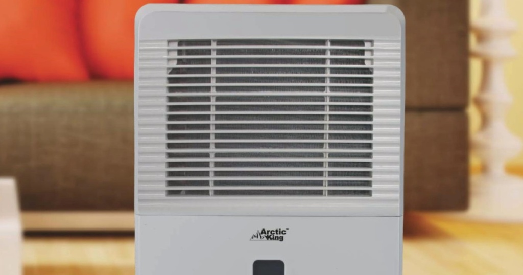 arctic king dehumidifier in living room