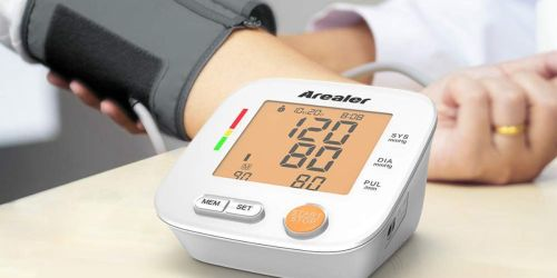 Automatic Blood Pressure Monitor Only $19.99 Shipped at Amazon