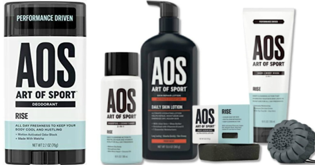 Art of Sport Deodorant and Body Care Collection