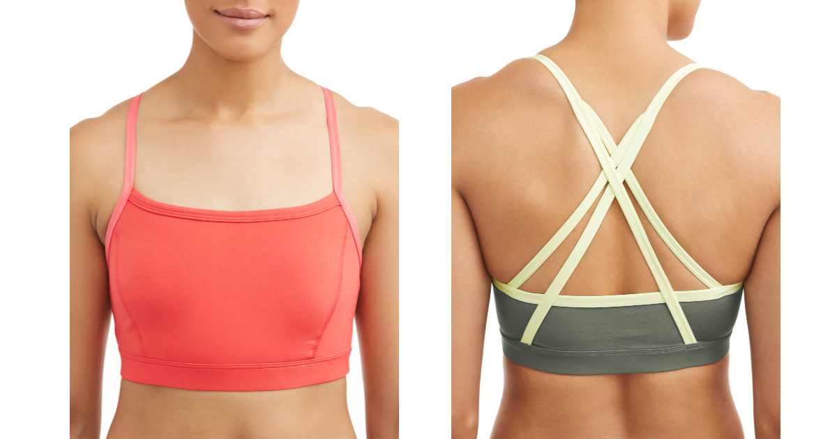 two women wearing athletic works sports bras