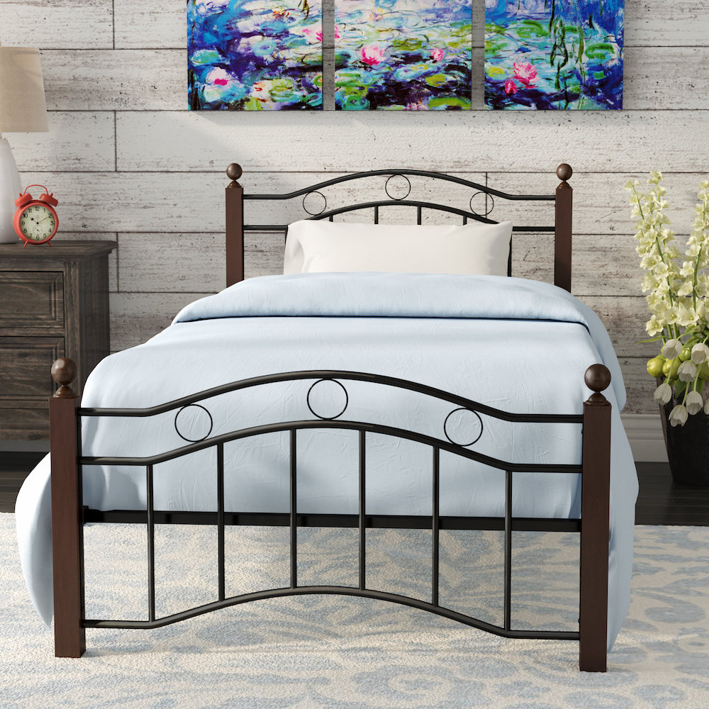 August Grove Twin Bed