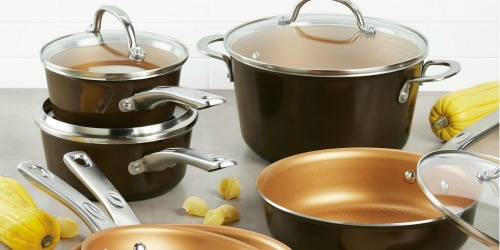Ayesha Curry 12-Piece Cookware Set Only $63.99 Shipped After Macy's Rebate (Regularly $200)