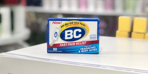 BC Aspirin Powder 50-Count Pack Only $2.51 at Target