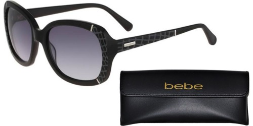 Bebe Women's Butterfly Sunglasses Just $22 Shipped