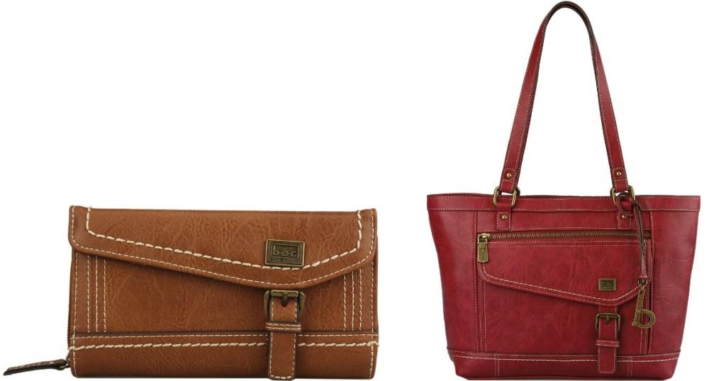 BOC Handbag and Wallet