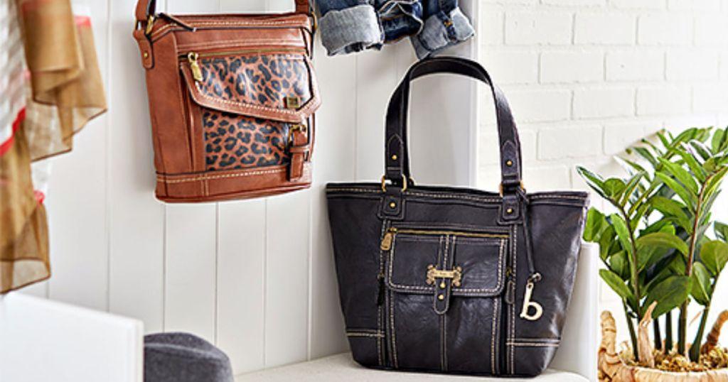 box handbags at zulily