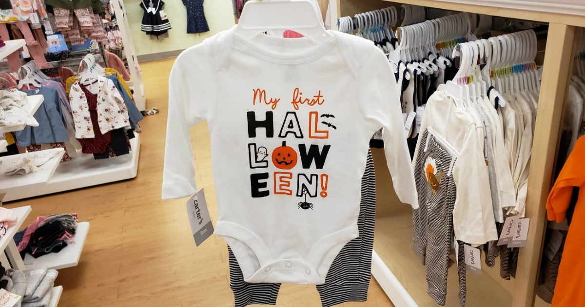 baby carters halloween bodysuit