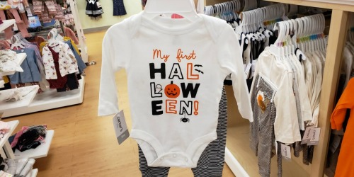 Carter's Infant & Toddler 2-Piece Halloween Outfits Only $8.97 at Kohl's (Regularly $22)