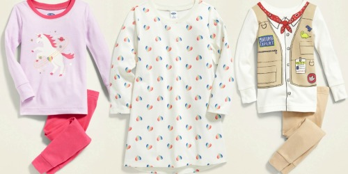 Old Navy Baby & Toddler Sleepwear Only $5 (Regularly up to $20)