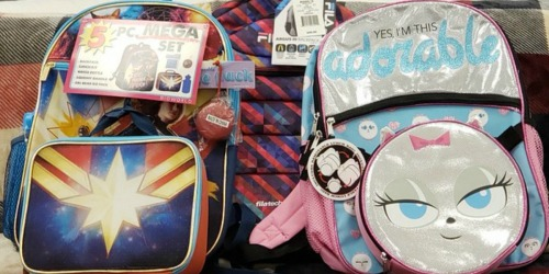 Up to 75% Off Kids Character Backpack Sets at Kohl's